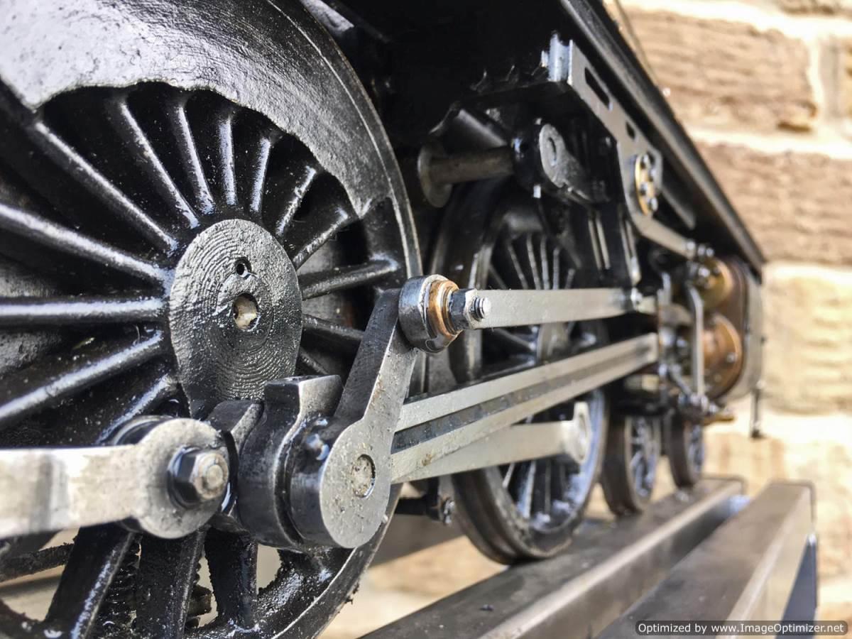 test 3 12 inch gauge LMS Black 5 Live Steam Locomotive for sale (13)