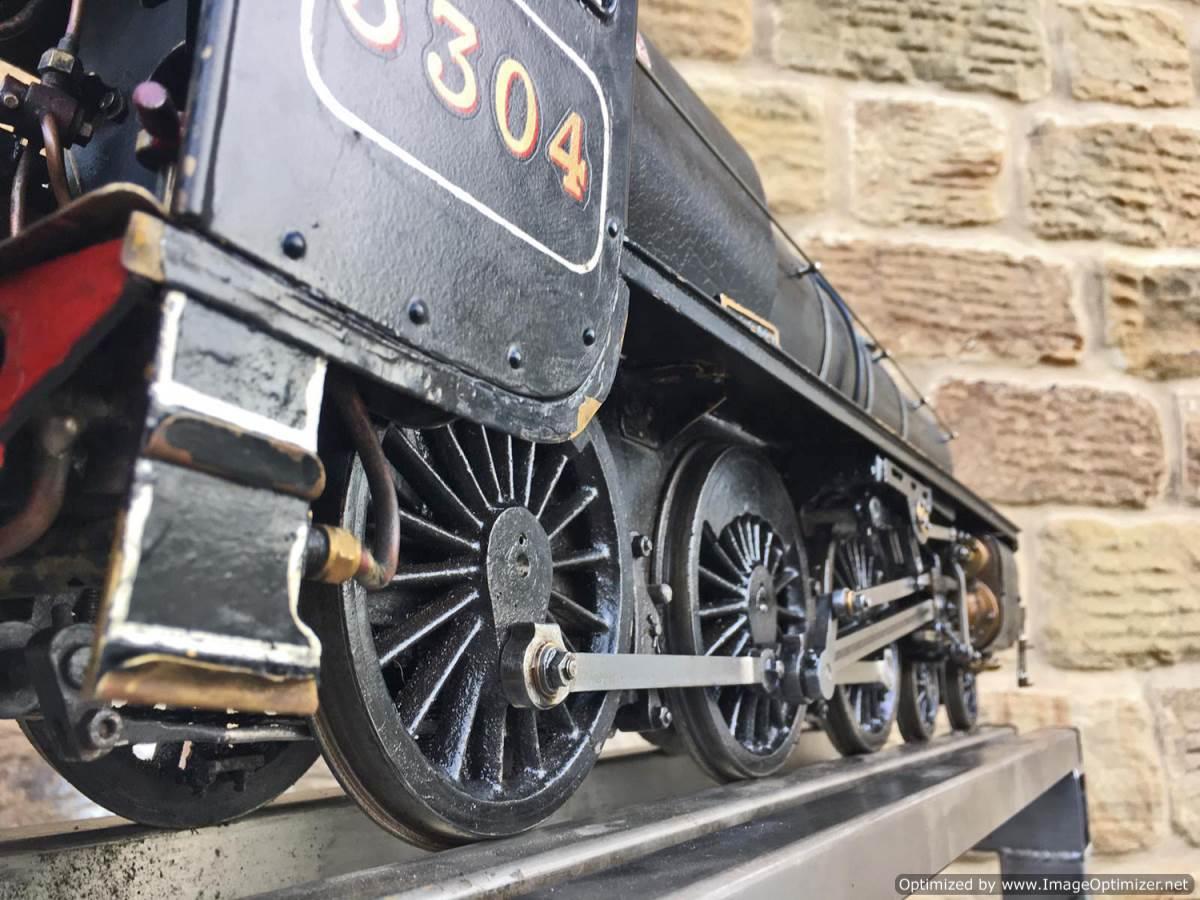 test 3 12 inch gauge LMS Black 5 Live Steam Locomotive for sale (14)