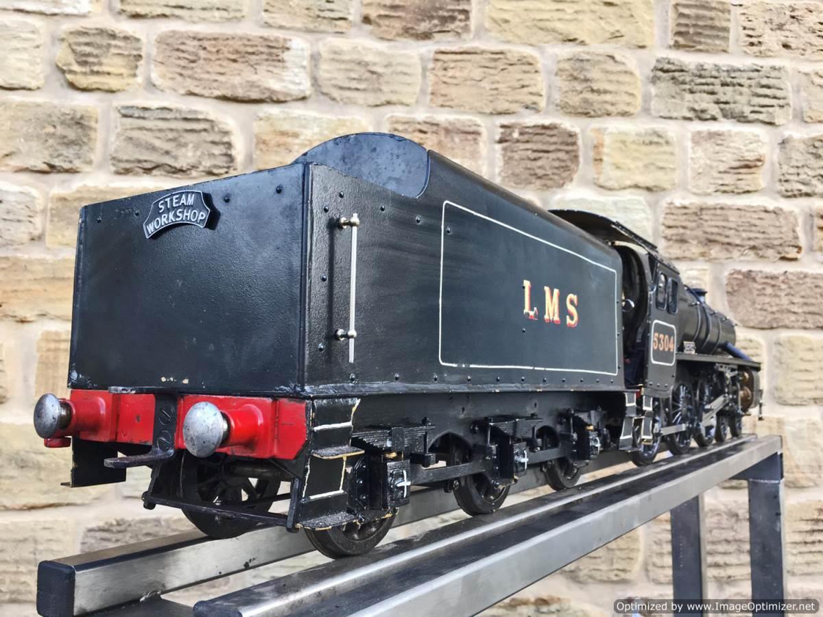 test 3 12 inch gauge LMS Black 5 Live Steam Locomotive for sale (15)