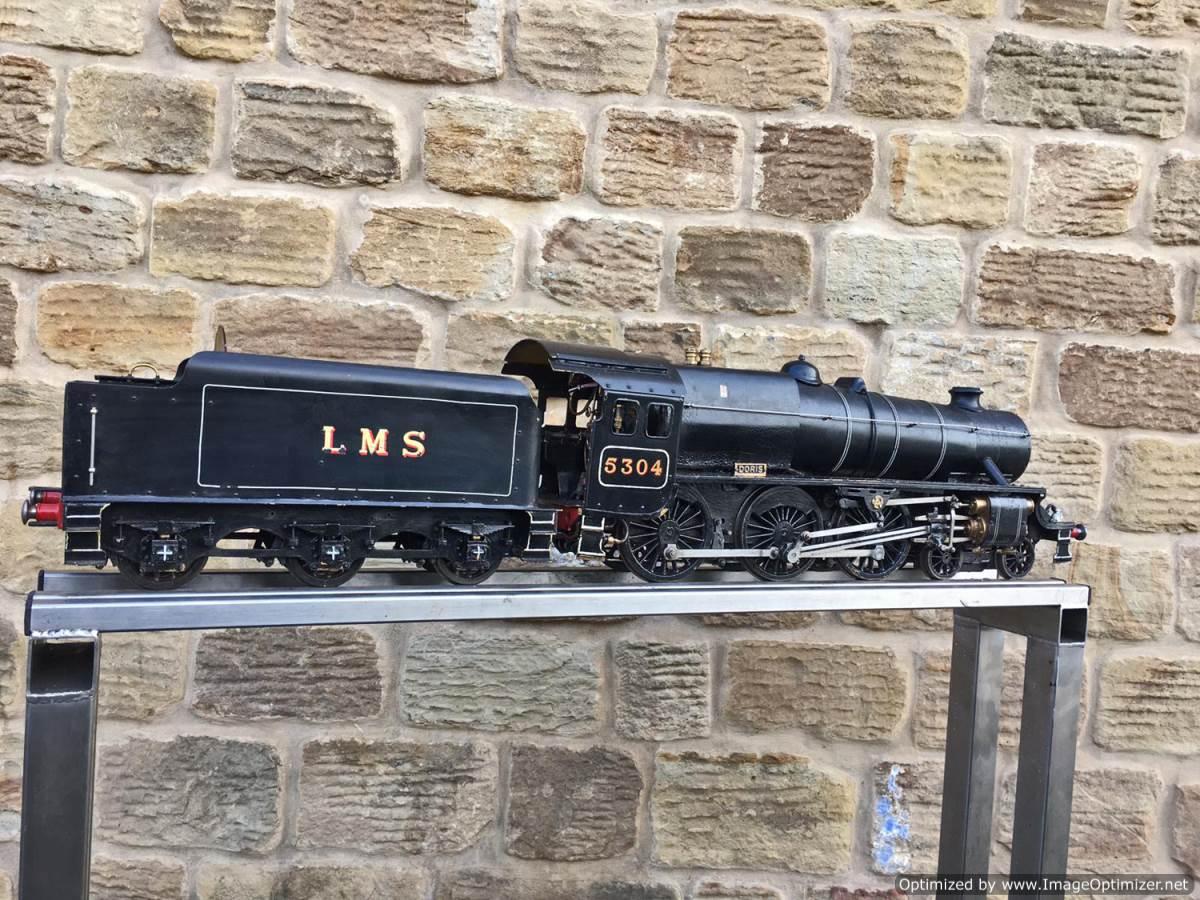 test 3 12 inch gauge LMS Black 5 Live Steam Locomotive for sale (16)