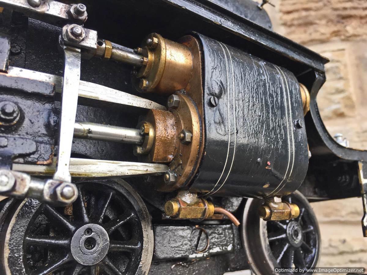 test 3 12 inch gauge LMS Black 5 Live Steam Locomotive for sale (17)