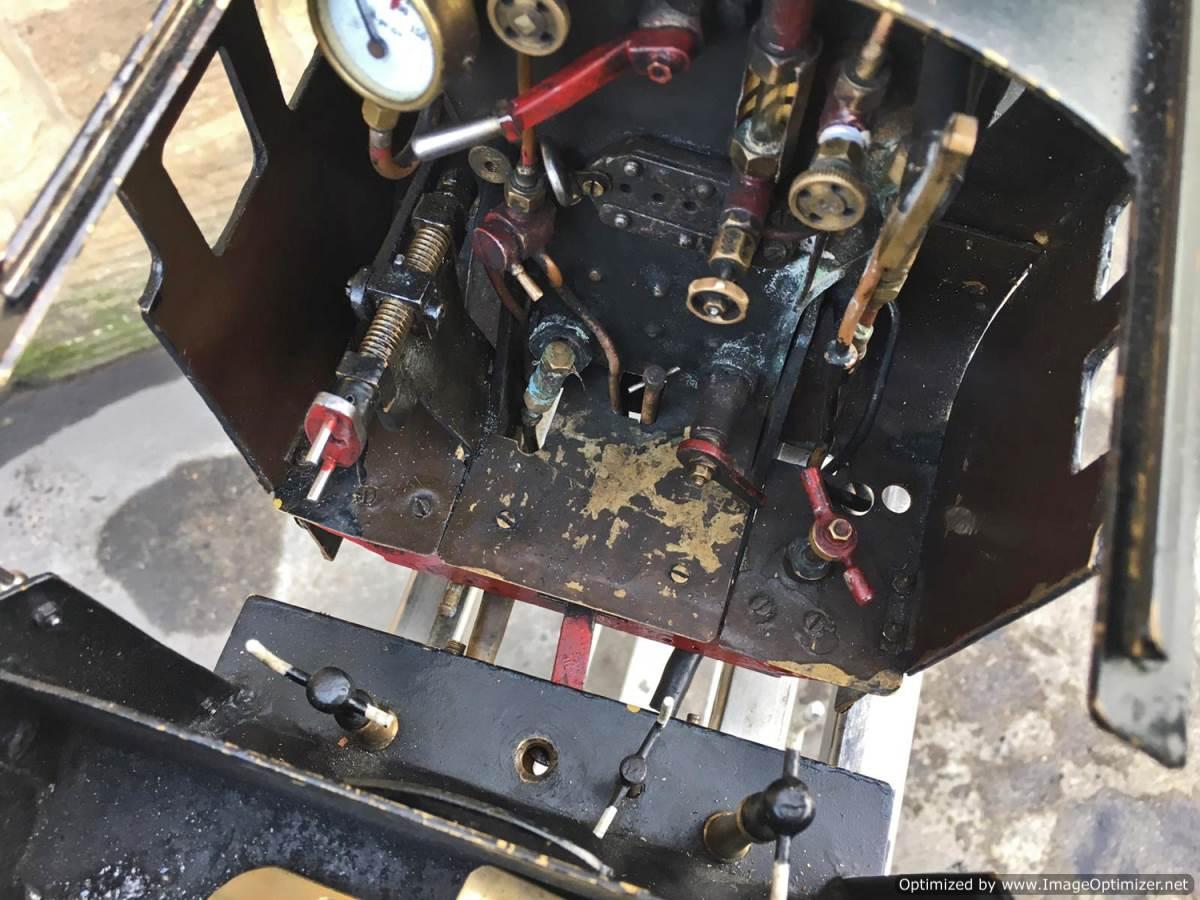 test 3 12 inch gauge LMS Black 5 Live Steam Locomotive for sale (20)