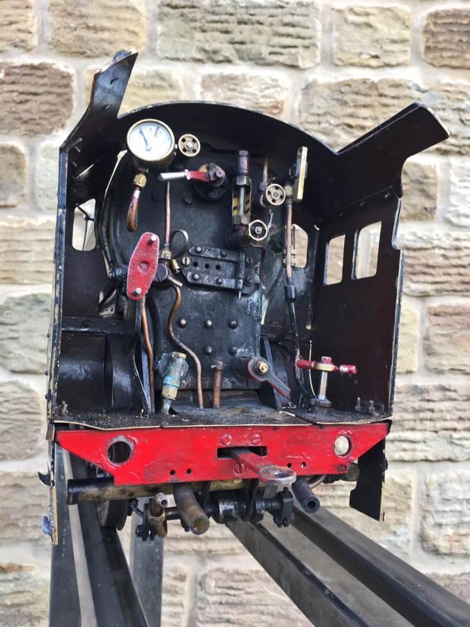 test 3 12 inch gauge LMS Black 5 Live Steam Locomotive for sale (22)