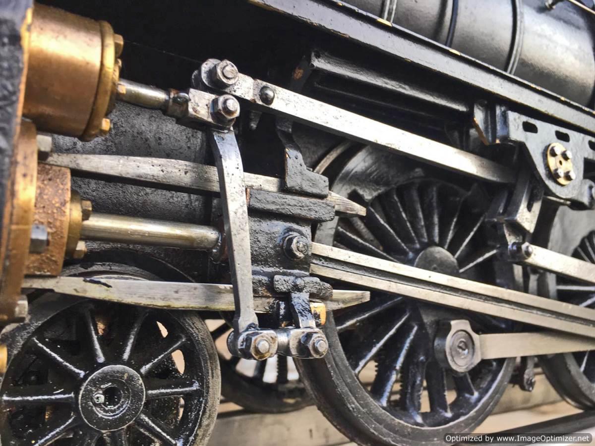 test 3 12 inch gauge LMS Black 5 Live Steam Locomotive for sale (3)