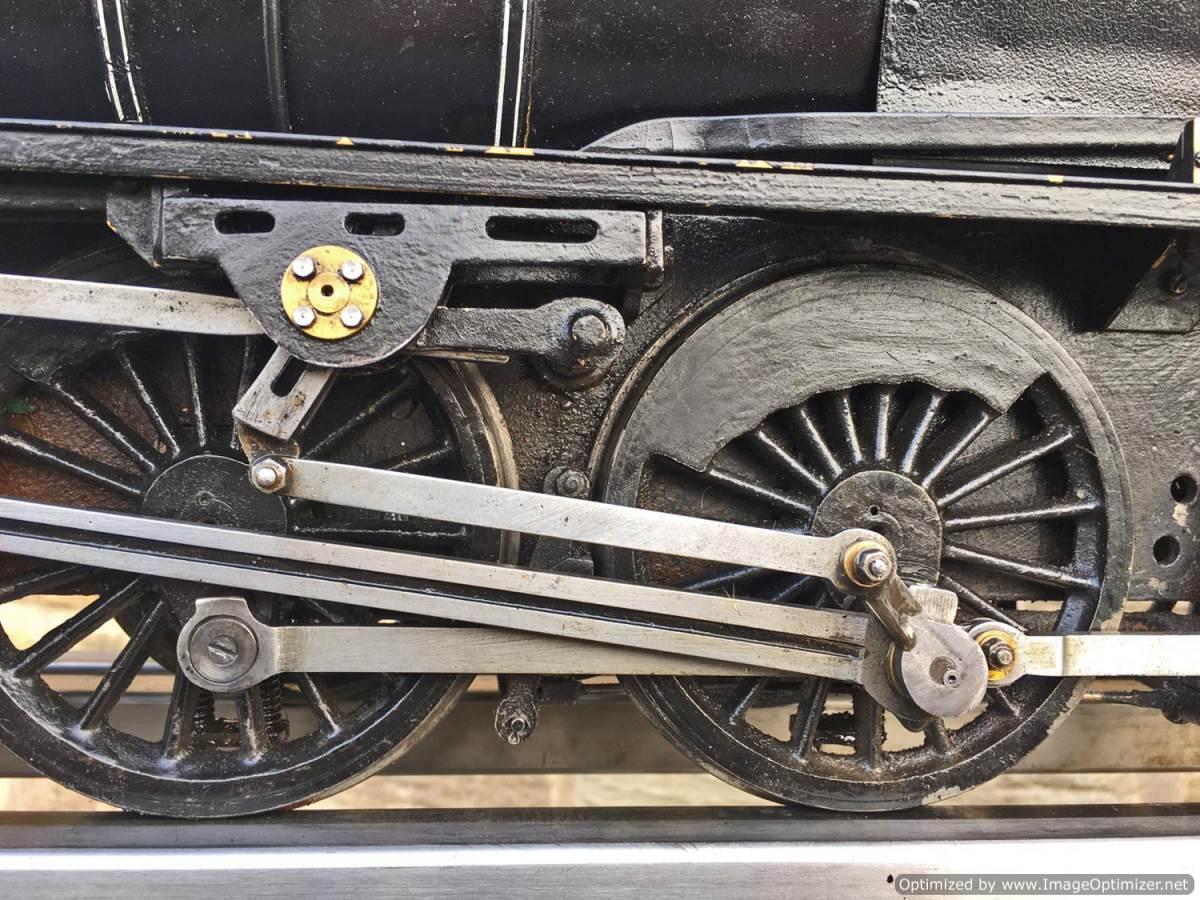 test 3 12 inch gauge LMS Black 5 Live Steam Locomotive for sale (4)