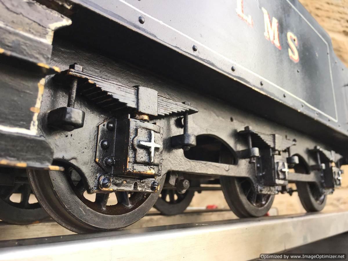 test 3 12 inch gauge LMS Black 5 Live Steam Locomotive for sale (8)