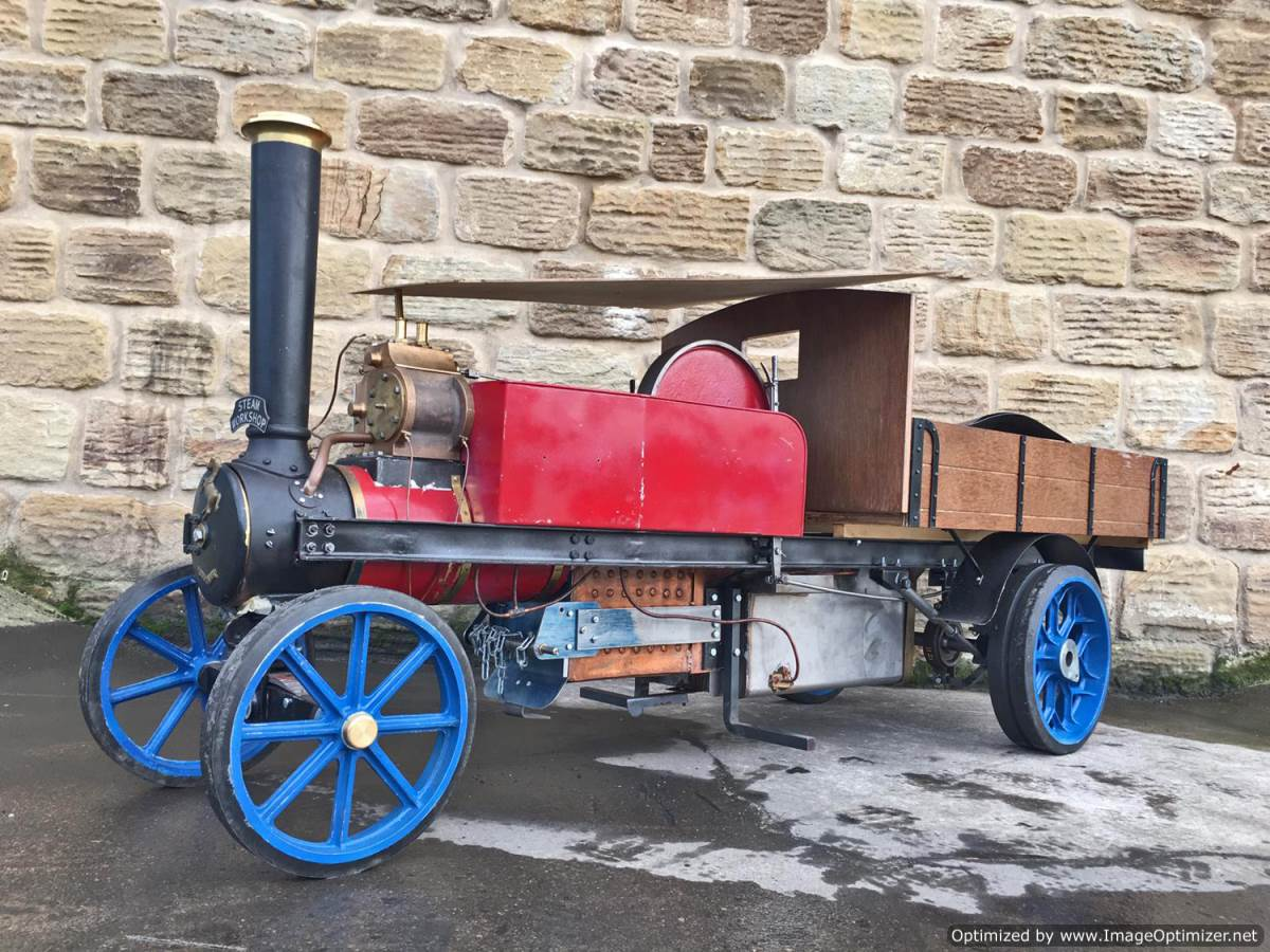 test 3 inch Scale Aveling & Porter Steam Lorry for sale (1)