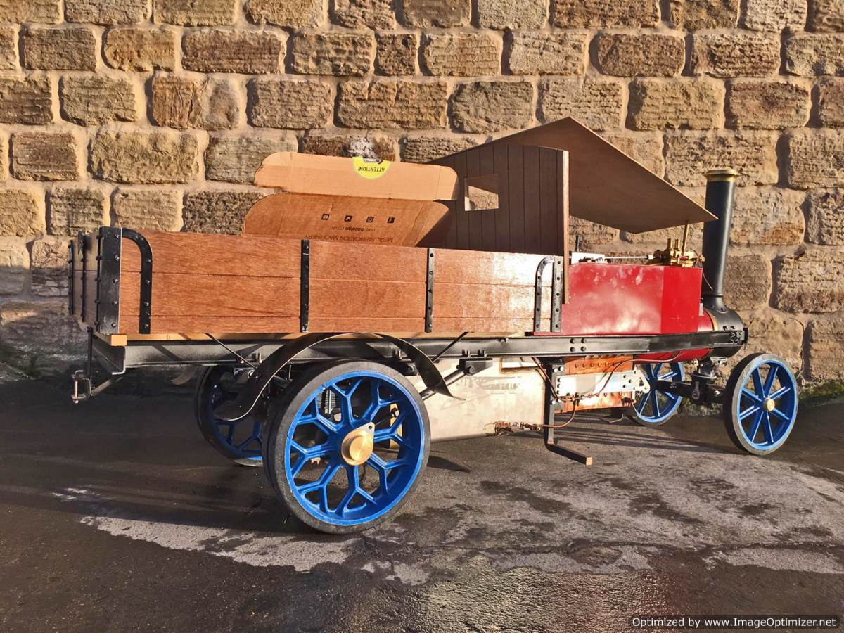 test 3 inch Scale Aveling & Porter Steam Lorry for sale (15)