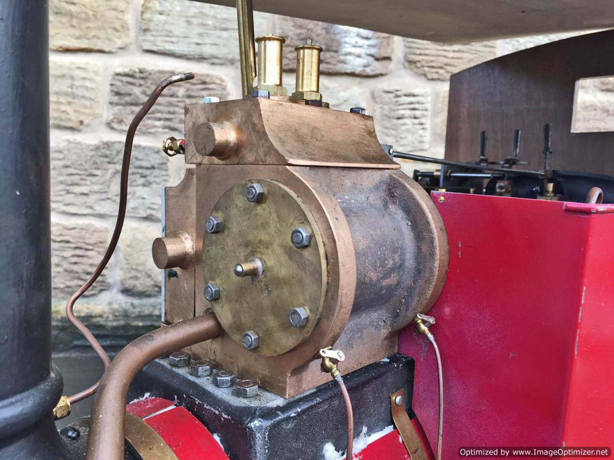test 3 inch Scale Aveling & Porter Steam Lorry for sale (2)