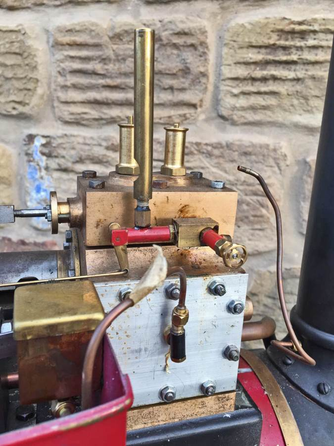 test 3 inch Scale Aveling & Porter Steam Lorry for sale (21)