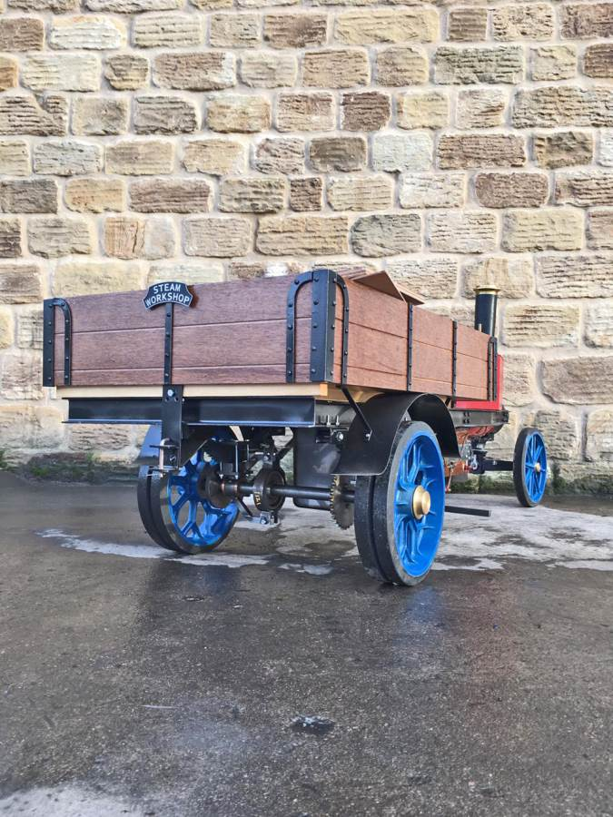 test 3 inch Scale Aveling & Porter Steam Lorry for sale (24)
