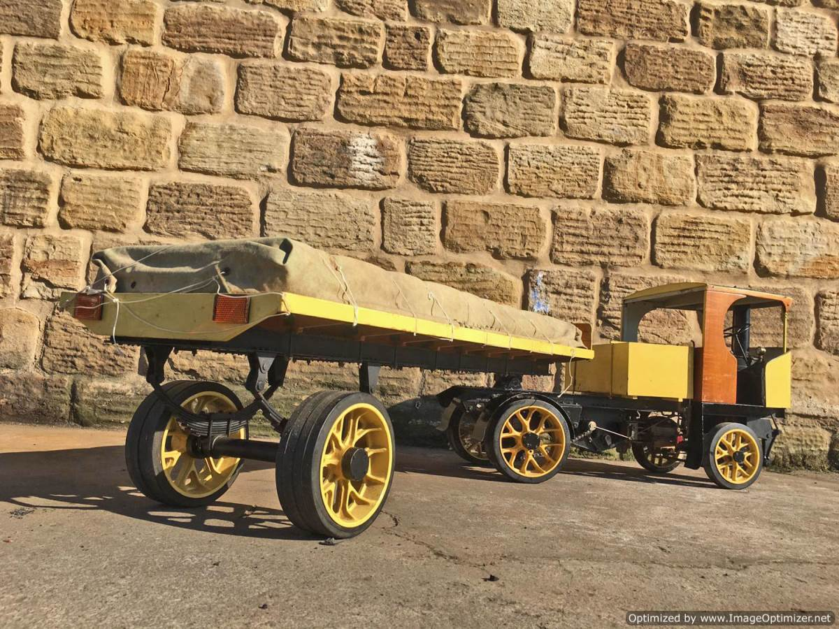 test 2 inch scale Clayton Steam Lorry (17)