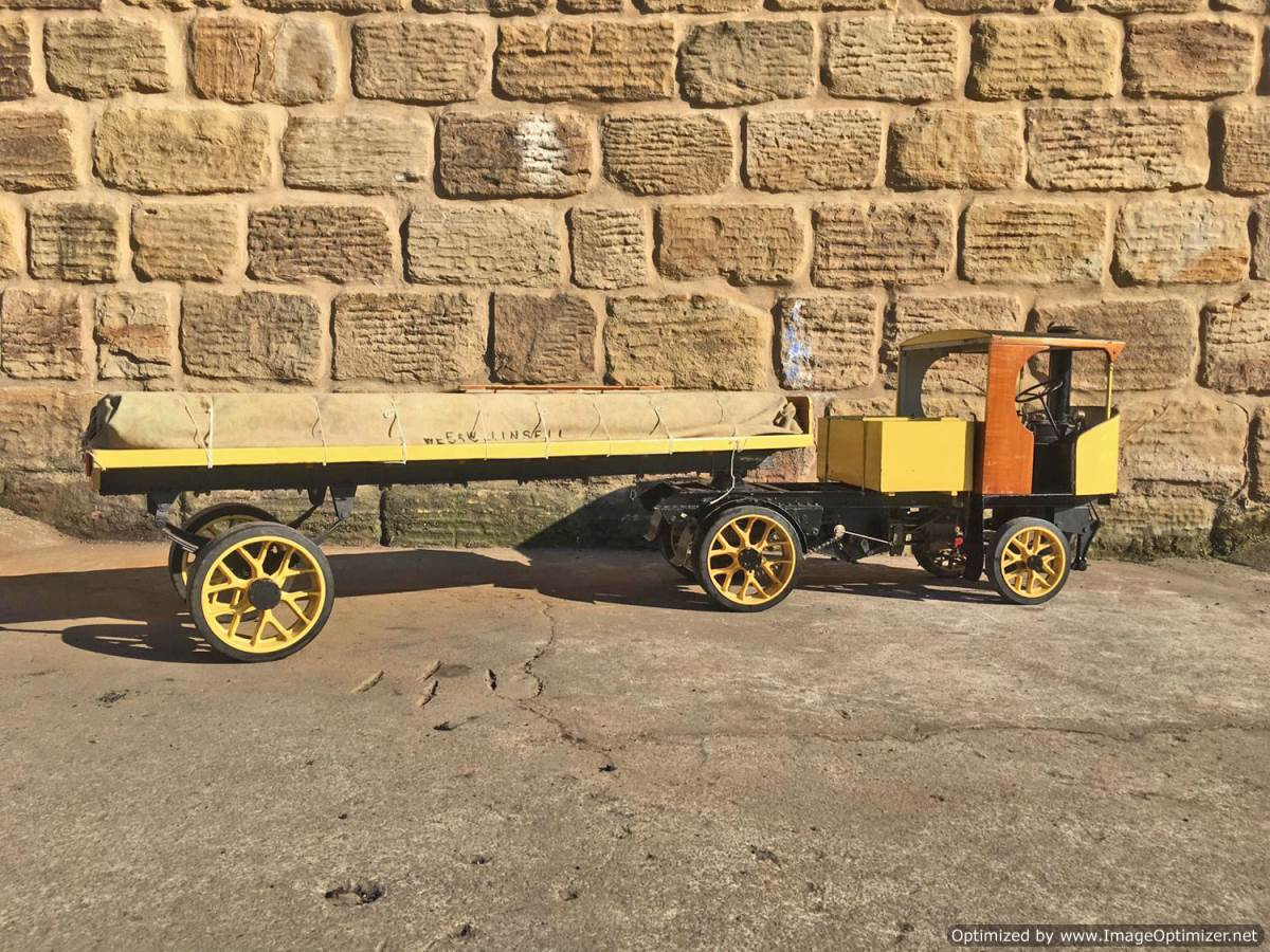 test 2 inch scale Clayton Steam Lorry (18)