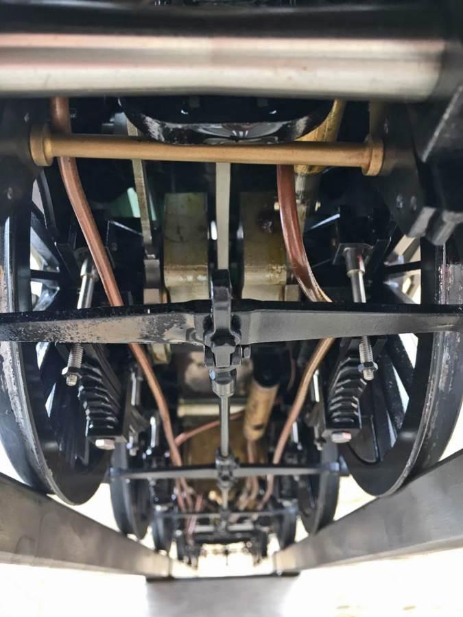 test 5 inch gauge LMS Jubilee Kingscale live steam model for sale (13)