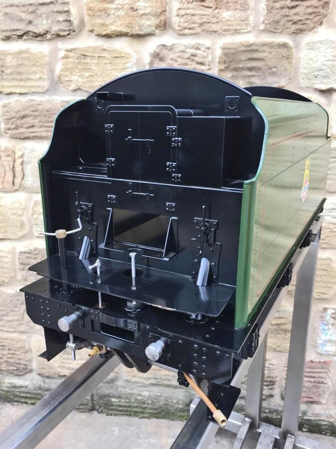 test 5 inch gauge LMS Jubilee Kingscale live steam model for sale (18)