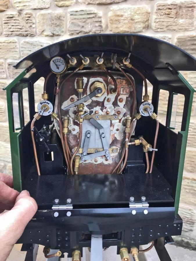 test 5 inch gauge LMS Jubilee Kingscale live steam model for sale (23)