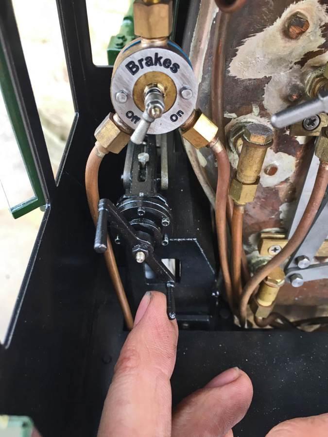 test 5 inch gauge LMS Jubilee Kingscale live steam model for sale (24)
