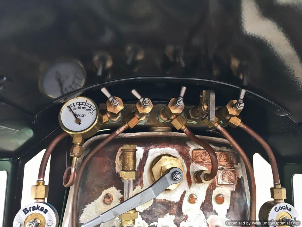 test 5 inch gauge LMS Jubilee Kingscale live steam model for sale (25)