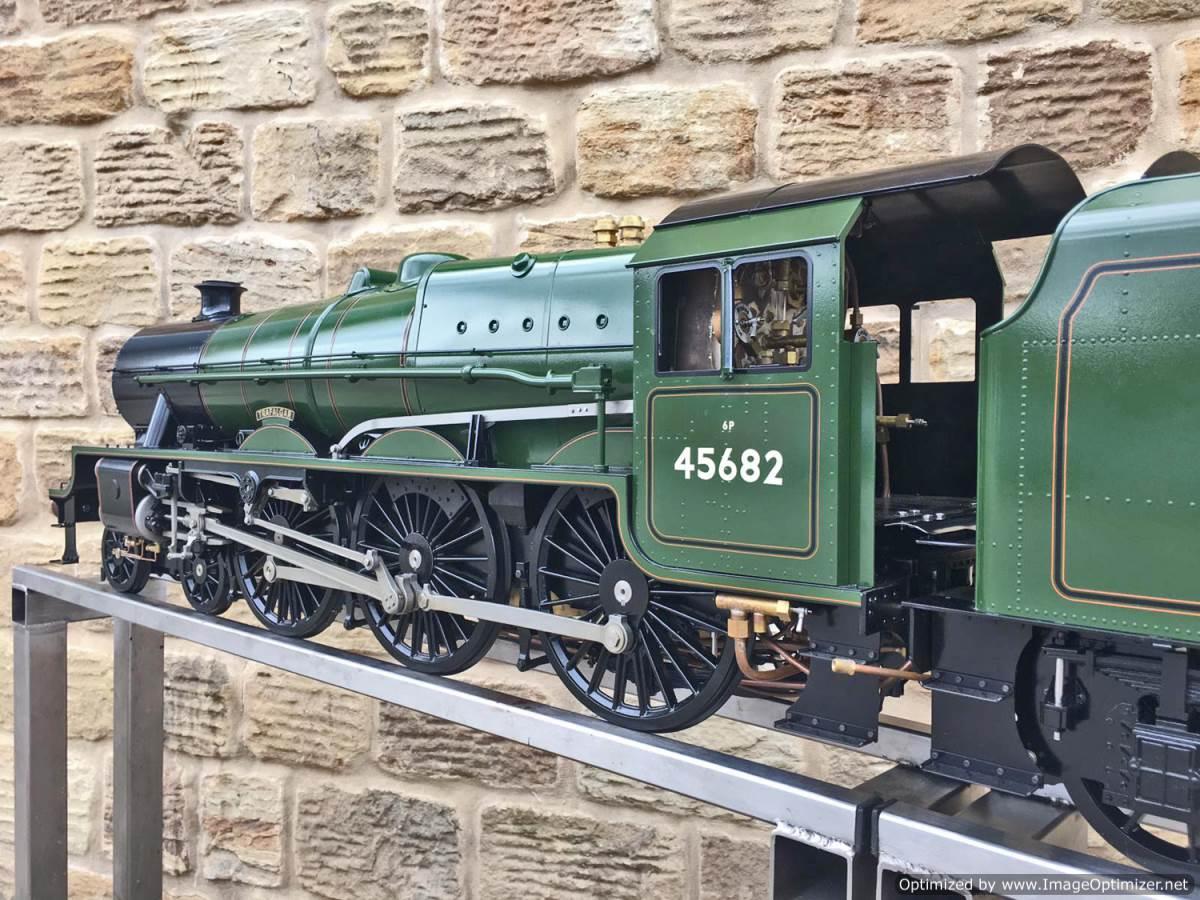 test 5 inch gauge LMS Jubilee Kingscale live steam model for sale (29)
