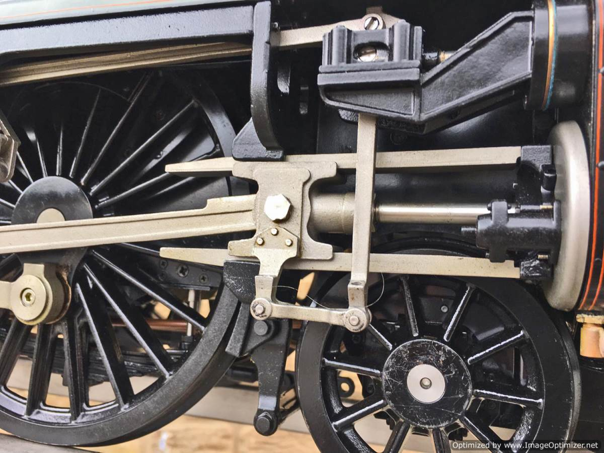 test 5 inch gauge LMS Jubilee Kingscale live steam model for sale (3)