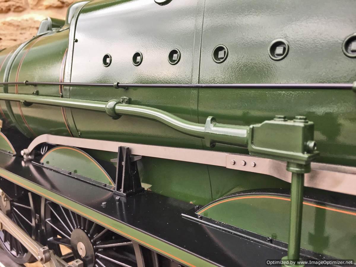 test 5 inch gauge LMS Jubilee Kingscale live steam model for sale (30)
