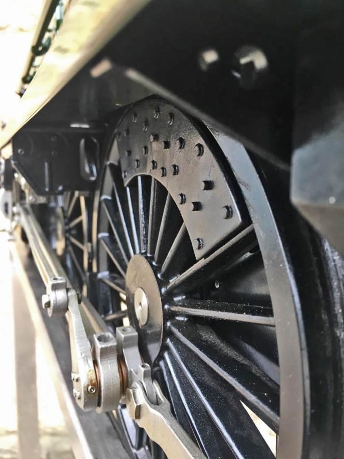 test 5 inch gauge LMS Jubilee Kingscale live steam model for sale (34)