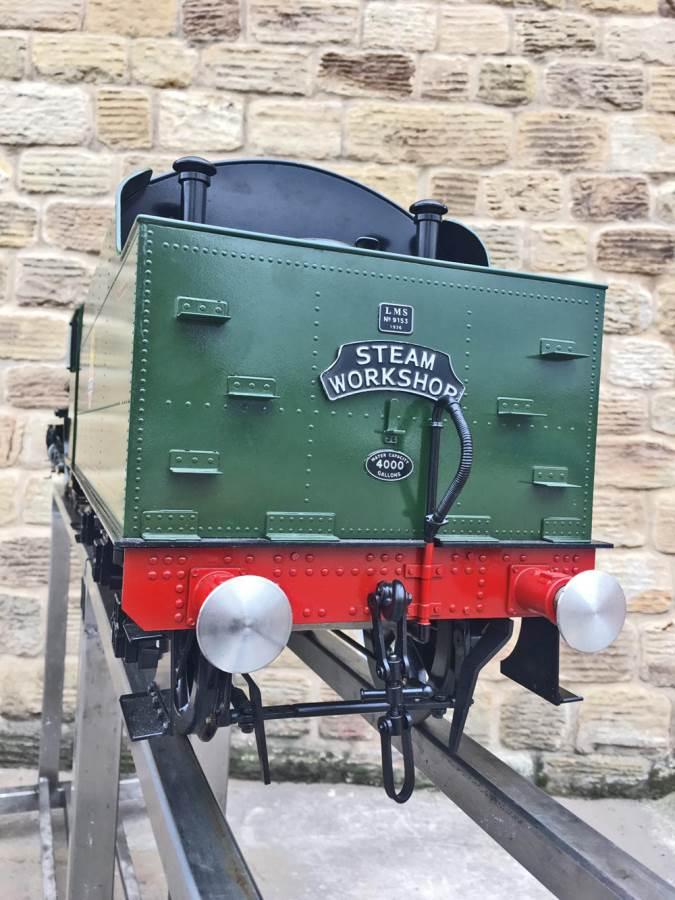 test 5 inch gauge LMS Jubilee Kingscale live steam model for sale (38)