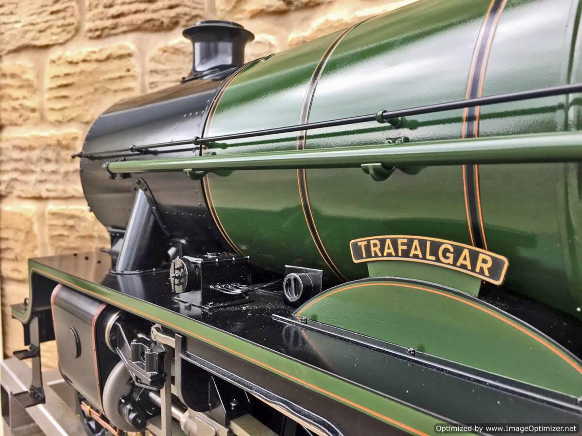 test 5 inch gauge LMS Jubilee Kingscale live steam model for sale (43)