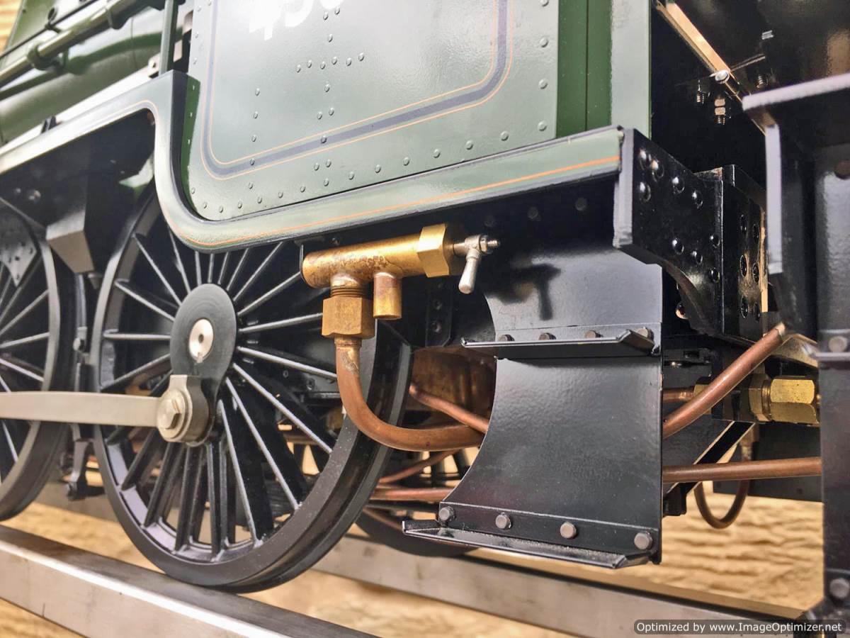 test 5 inch gauge LMS Jubilee Kingscale live steam model for sale (45)