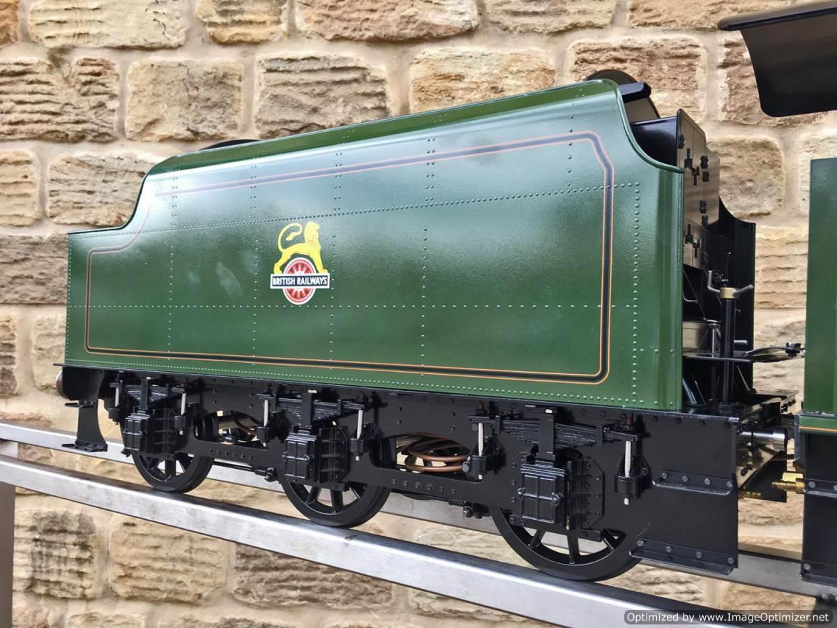 test 5 inch gauge LMS Jubilee Kingscale live steam model for sale (5)