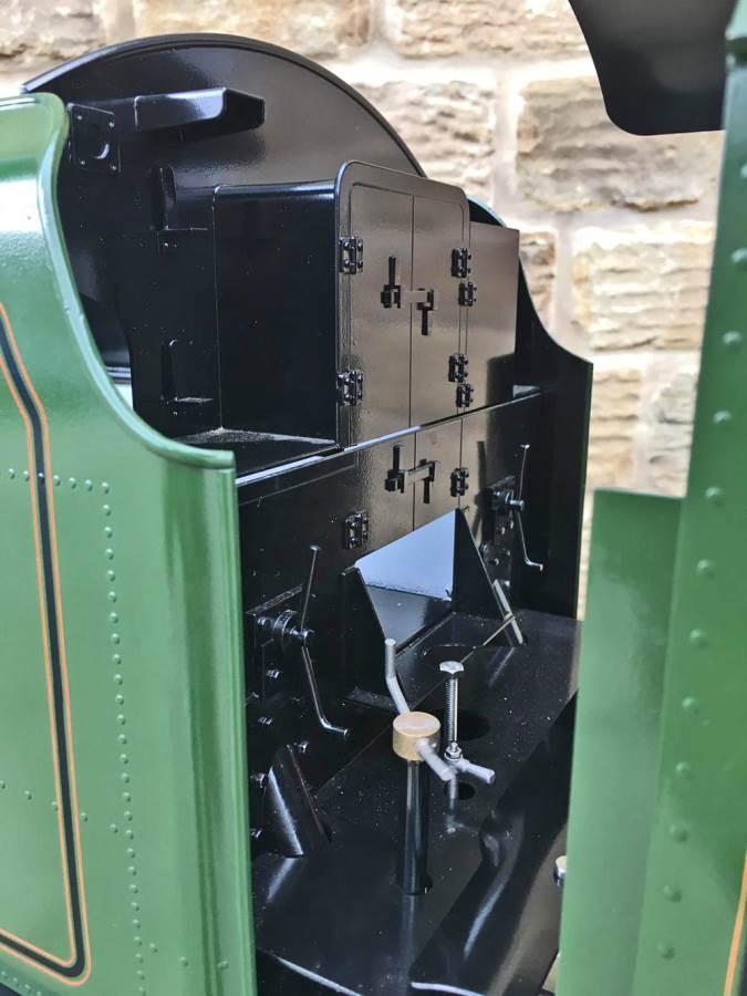 test 5 inch gauge LMS Jubilee Kingscale live steam model for sale (9)