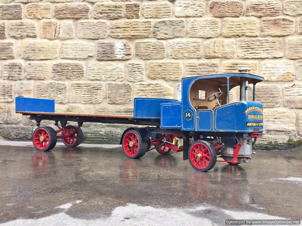 test 2 inch Scale Clayton Steam Lorry (1)