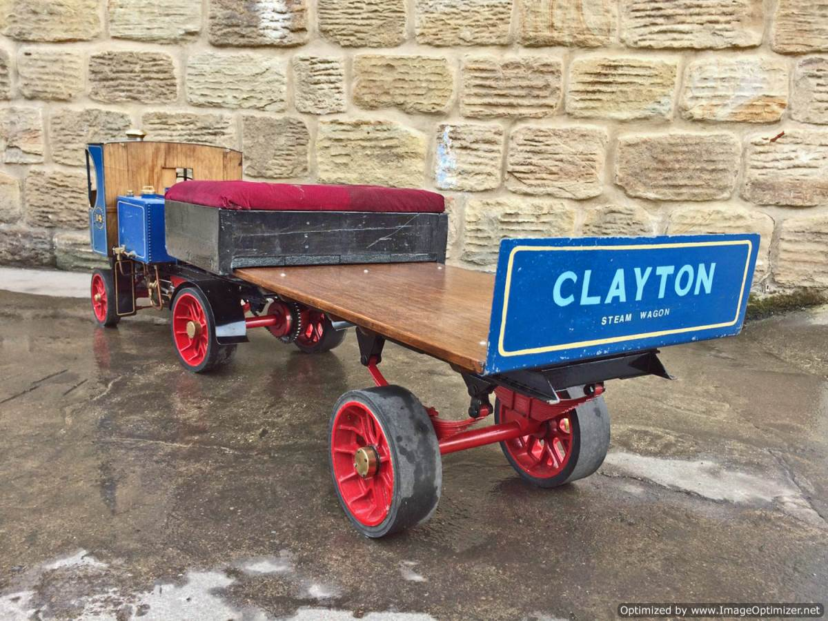 test 2 inch Scale Clayton Steam Lorry (16)