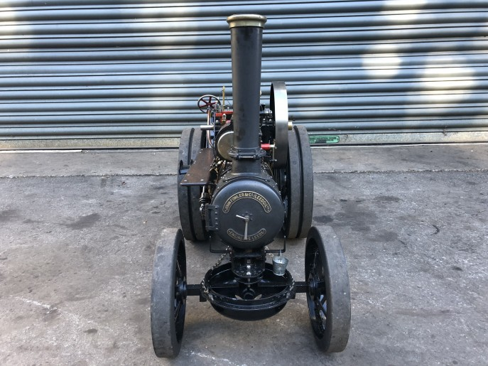 test 2 inch scale Fowler A7 traction engine live steam model for sale 03