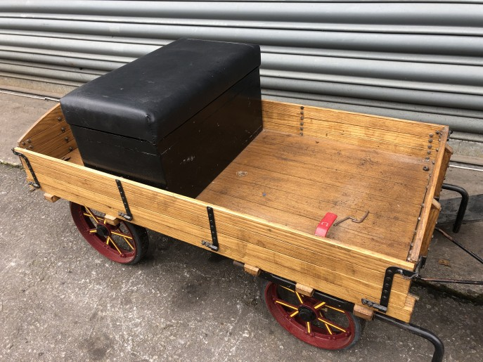 test 2 inch scale traction engine wagon live steam for sale