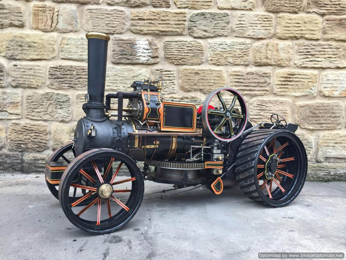 test 2 inch fowler superba ploughing engine live steam traction engine for sale (1)