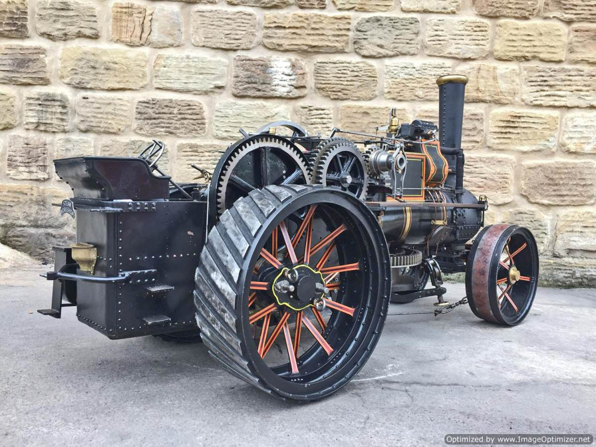 test 2 inch fowler superba ploughing engine live steam traction engine for sale (14)