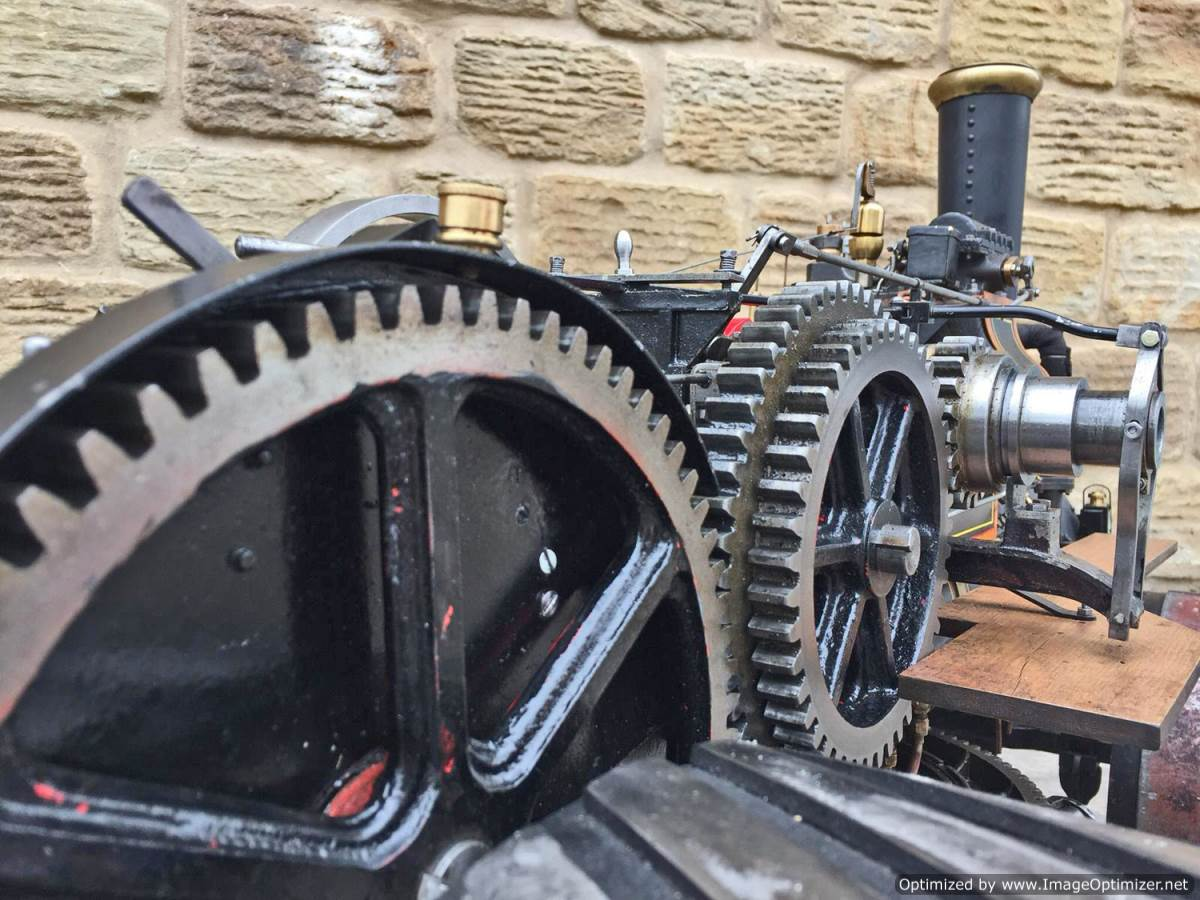 test 2 inch fowler superba ploughing engine live steam traction engine for sale (15)