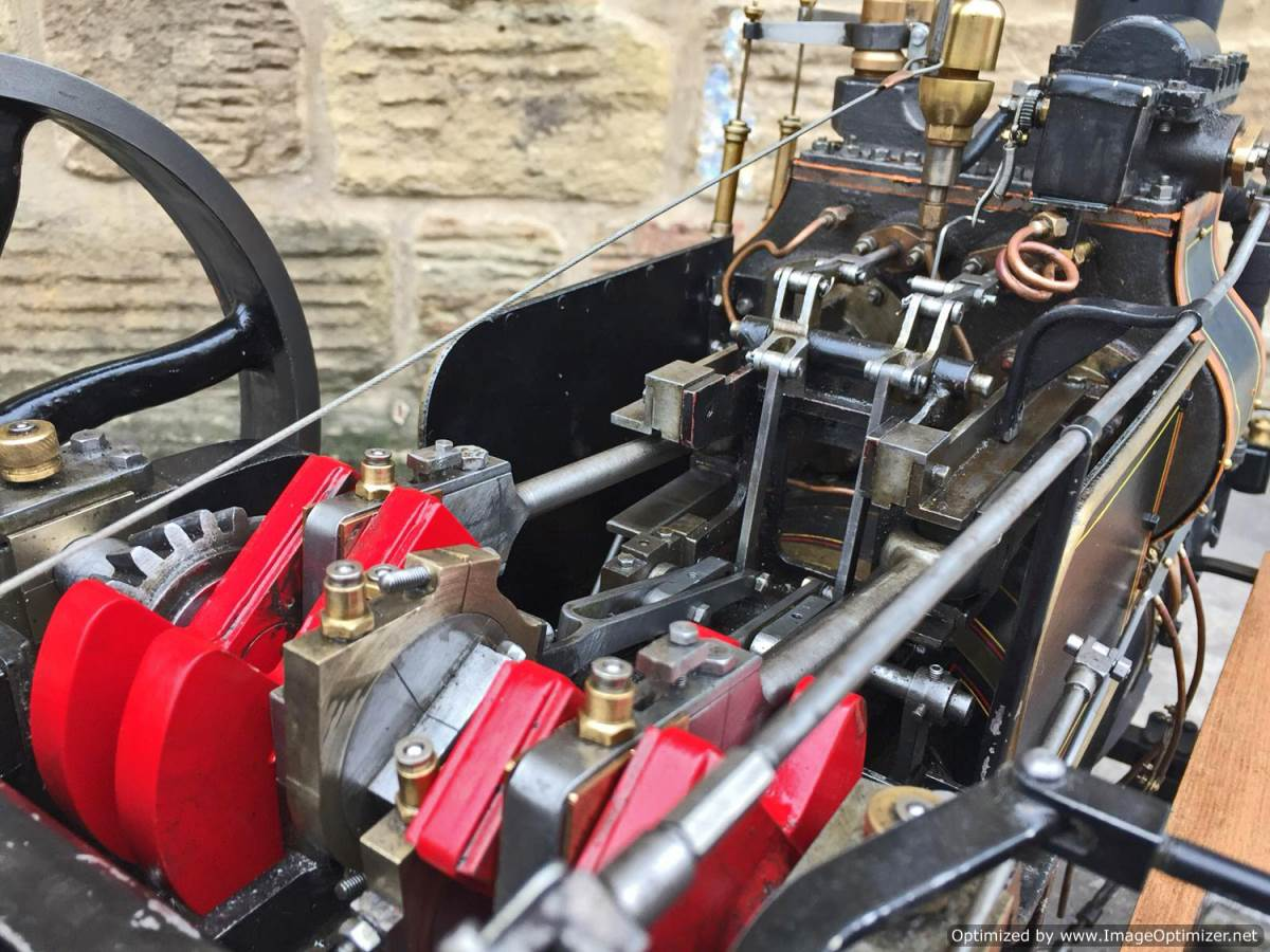 test 2 inch fowler superba ploughing engine live steam traction engine for sale (16)
