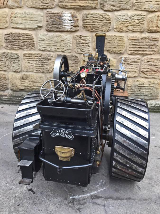 test 2 inch fowler superba ploughing engine live steam traction engine for sale (21)