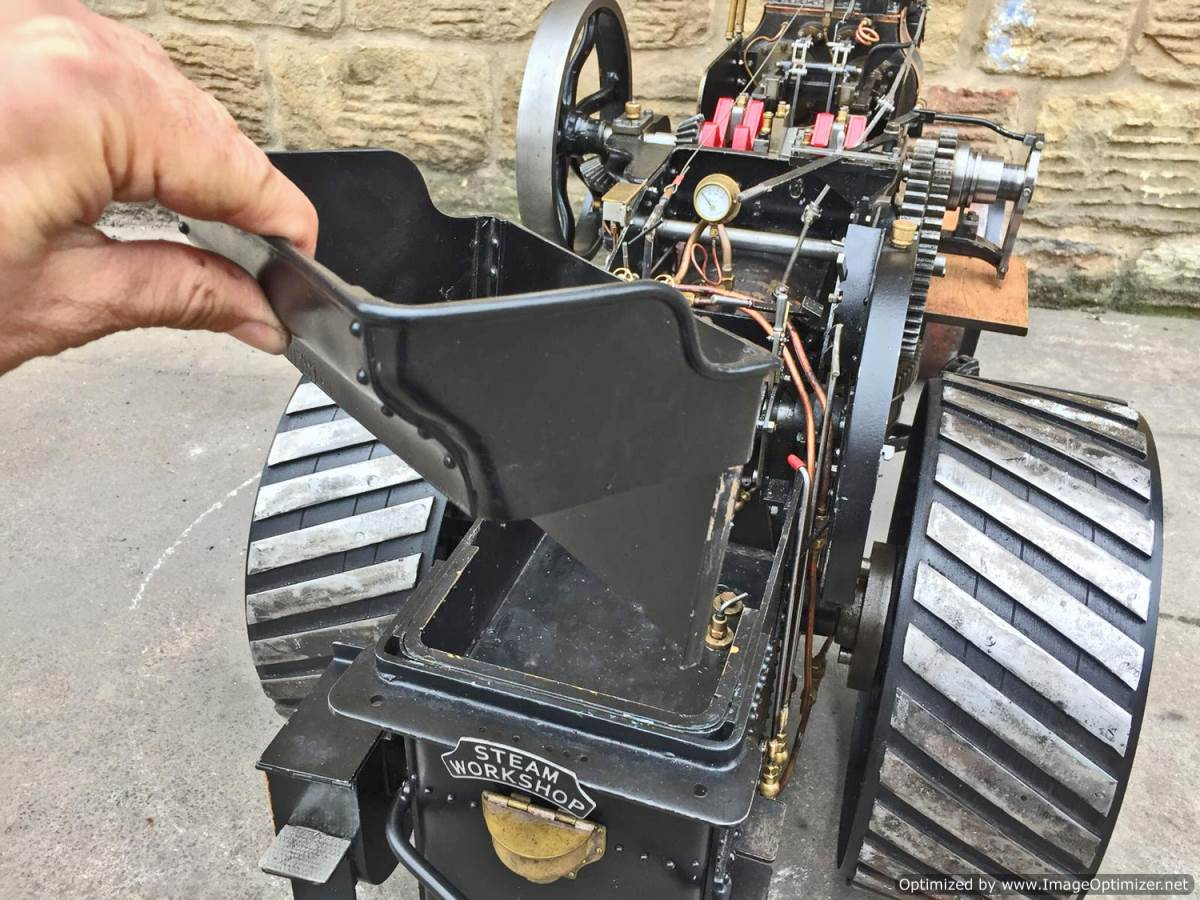 test 2 inch fowler superba ploughing engine live steam traction engine for sale (23)
