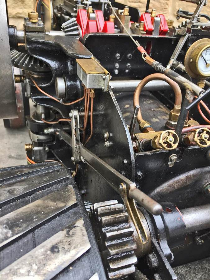 test 2 inch fowler superba ploughing engine live steam traction engine for sale (24)