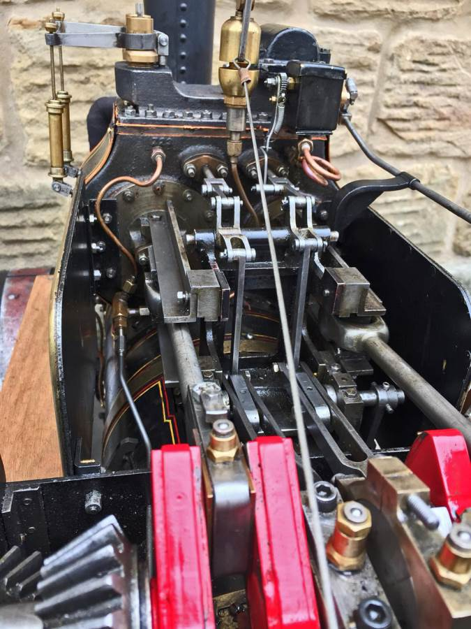 test 2 inch fowler superba ploughing engine live steam traction engine for sale (25)
