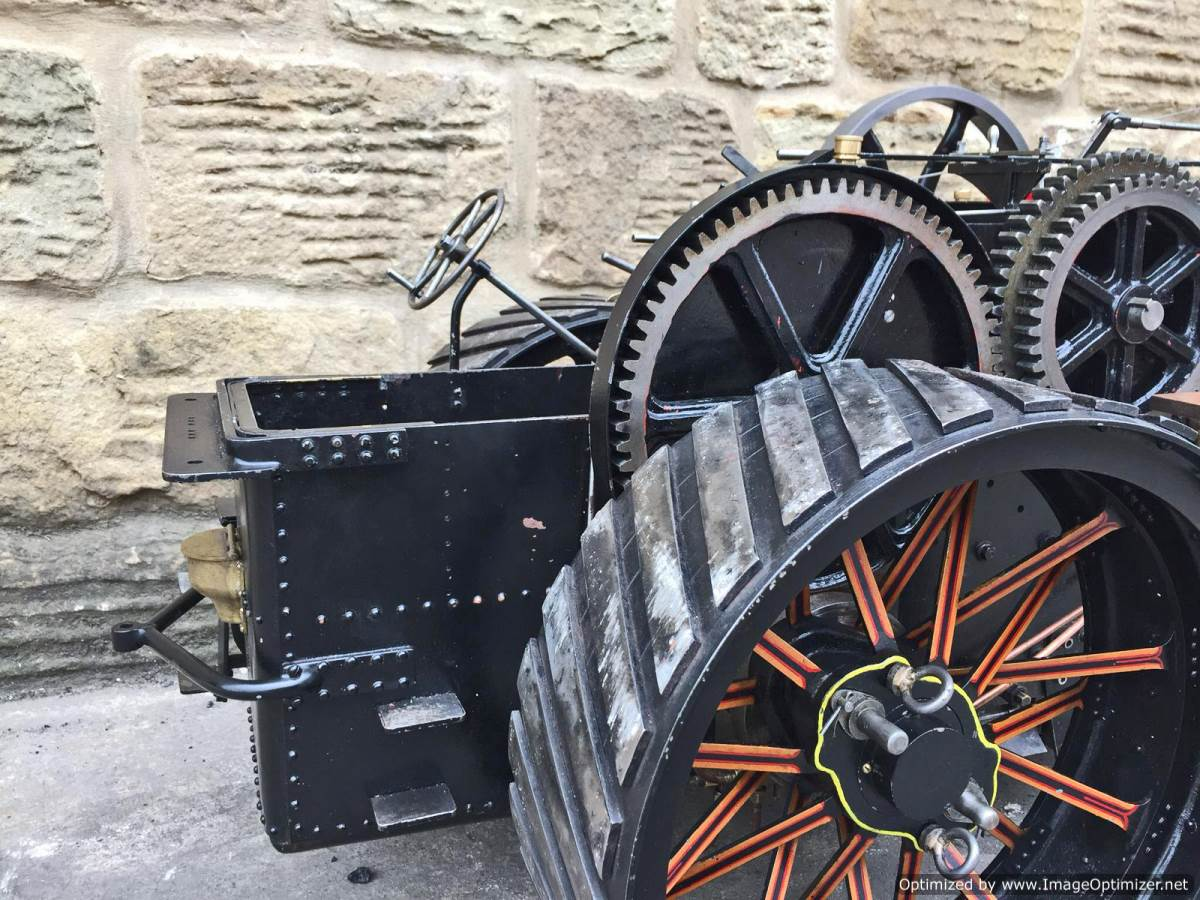 test 2 inch fowler superba ploughing engine live steam traction engine for sale (27)