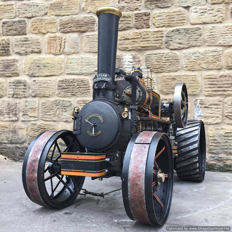 test 2 inch fowler superba ploughing engine live steam traction engine for sale (32)