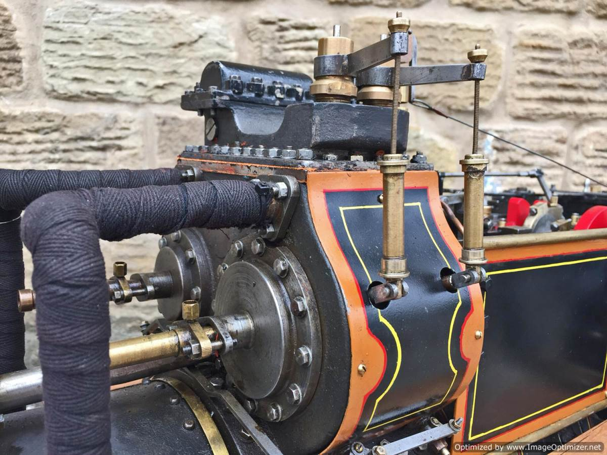 test 2 inch fowler superba ploughing engine live steam traction engine for sale (4)
