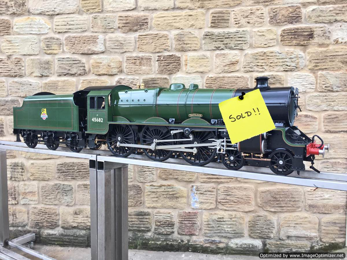 test 5-inch-gauge-LMS-Jubilee-Kingscale-live-steam-model-SOLD