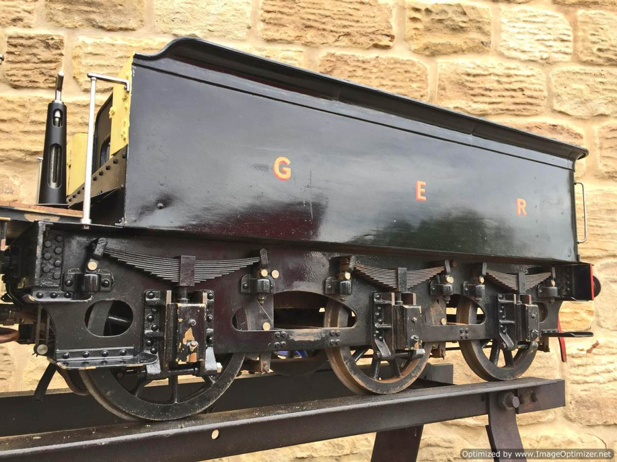 test 7 and a quarter GER J15 live steam for sale (13)