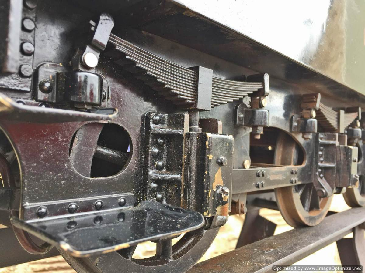 test 7 and a quarter GER J15 live steam for sale (15)