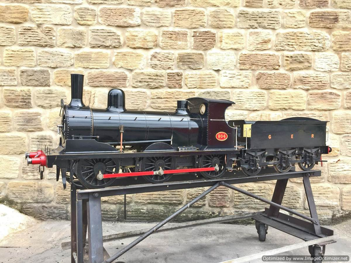 test 7 and a quarter GER J15 live steam for sale (16)
